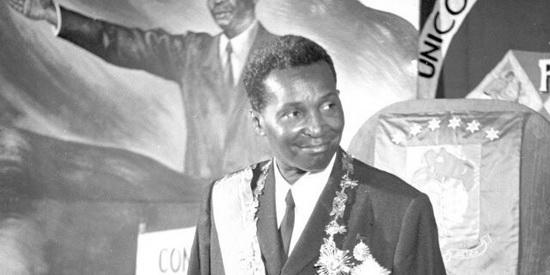 Франсиско Масиас Нгема победил на первых и единственных свободных выборах в Экваториальной Гвинее в 1968 году.