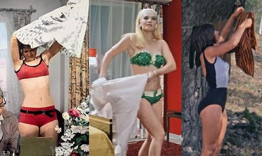 актрисы советского кино в купальниках