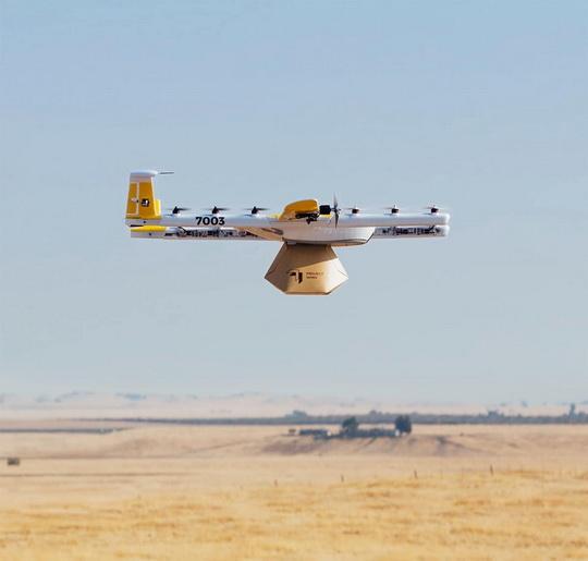 Американская корпорация Amazon получила разрешение Федерального авиационного управления (ФАУ) Соединенных Штатов на применение беспилотников для доставки грузов.