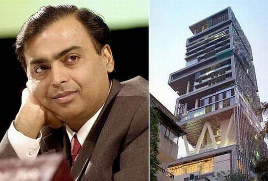 Мукеш Амбани считается одним из богатейших людей из Азии во всем мире.