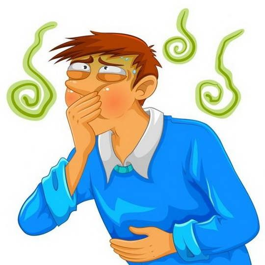 причина звуков — это движение газов, проглоченных с пищей или выделившихся при пищеварении