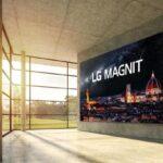 LG представила огромный 163-дюймовый дисплей LG Magnit с MicroLED и 4K
