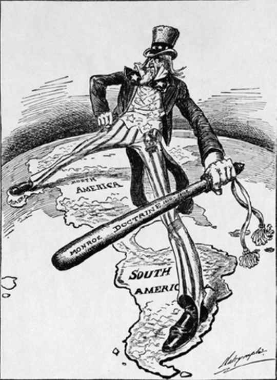 """Today, we proudly proclaim for all to hear: the Monroe Doctrine is alive and well,"" US national security advisor John Bolton declared last week in Florida."