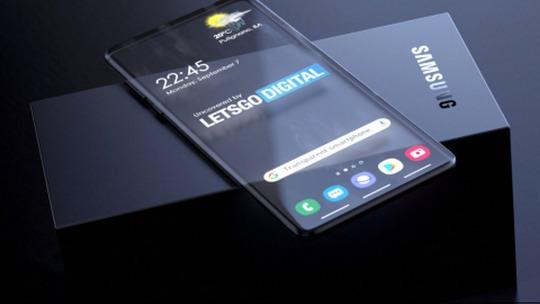Компания Samsung запатентовала дизайн смартфона с прозрачным дисплеем.