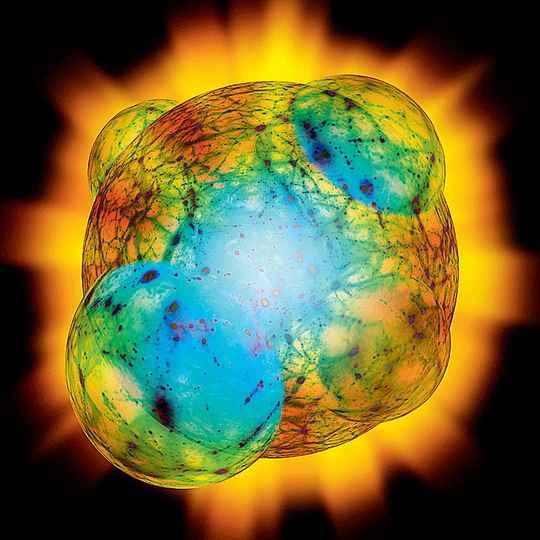 По современным представлениям, пустое пространство (вакуум) может находиться в разных энергетических состояниях.
