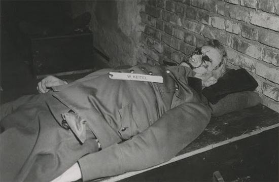 Кейтель после казни