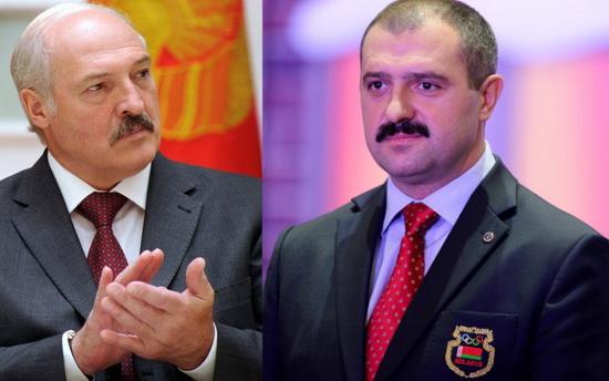 Лукашенко и его сын Виктор