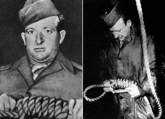 Нюрнбергский процесс стал вершиной карьеры палача Джона Вудса, он казнил деятелей Третьего Рейха