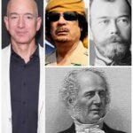 10 исторических личностей, которые сегодня были бы богаче Джеффа Безоса