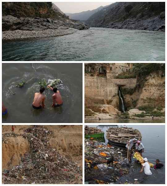 Среди склонов Гималаев, где великая река Ганг берет свое начало, ее воды чисты. Но чем дальше поток удаляется от истока, тем сильнее он напоминает сточную канаву.