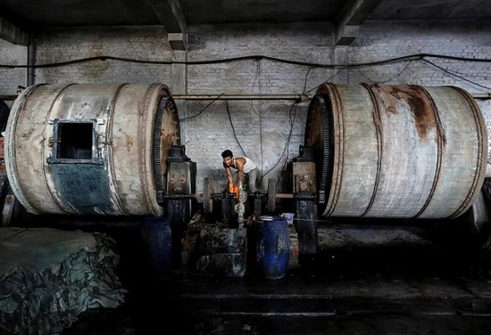 Канпур — один из крупнейших центров промышленности в Индии