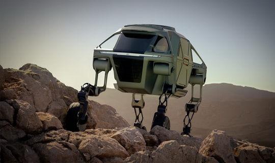 Впервые Hyundai представила концепцию подъемного шагающего вездехода на выставке CES 2019