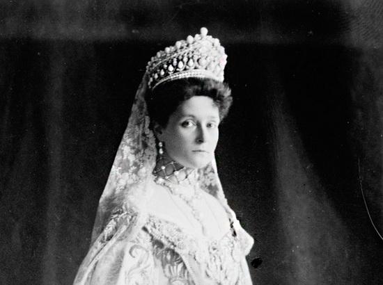 Императрица Александра Федоровна в Большой бриллиантовой диадеме
