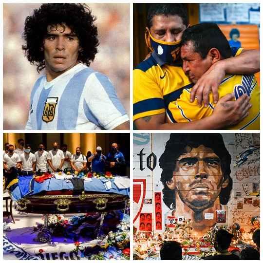 Церемония прощания с Диего Марадоной прошла в аргентинском президентском дворце «Каса-Росада».