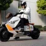 Концепт электроскутера BMW Motorrad Definition CE 04