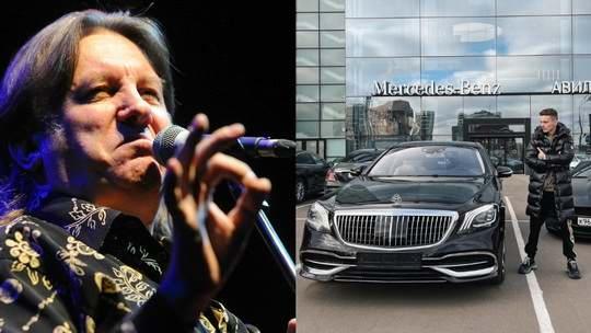 Младший сын певицы Валерии на свой 22-й день рождения в качестве подарка приобрел Maybach за 10 миллионов рублей