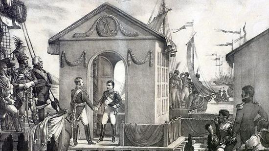 Встреча Наполеона I и Александра