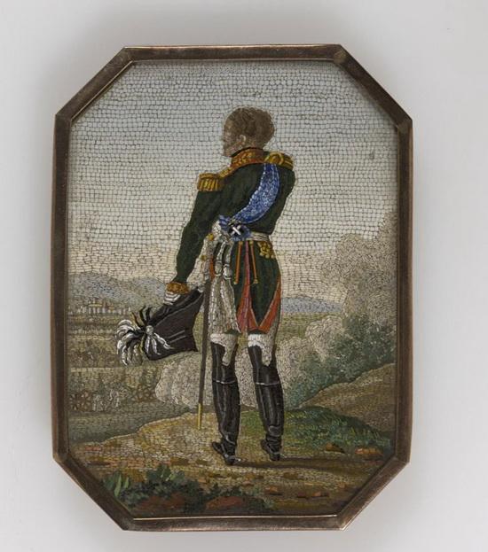 Мозаика «Александр I на маневрах»