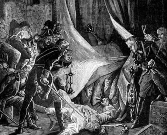 Убийство Павла I заговорщиками / ©Wikimedia Commons