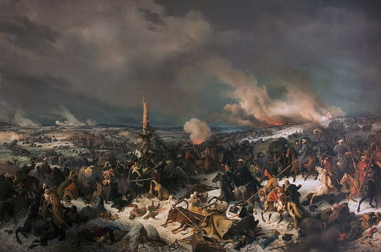 Переход Березины французами 17 ноября 1812 года (29 ноября по новому стилю). В результате успешного прорыва из России Наполеон смог воевать с ней еще два года, нанеся нашей стране очень чувствительные потери / ©Wikimedia Commons