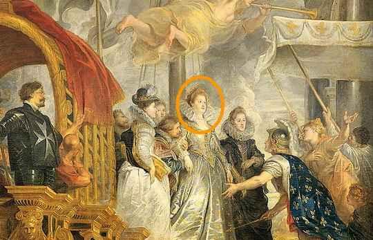 Мария Медичи родилась в могущественной и влиятельной семье Медичи, известных покровителей искусств.