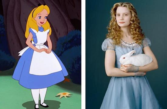 Миа Васиковска в образе Алисы