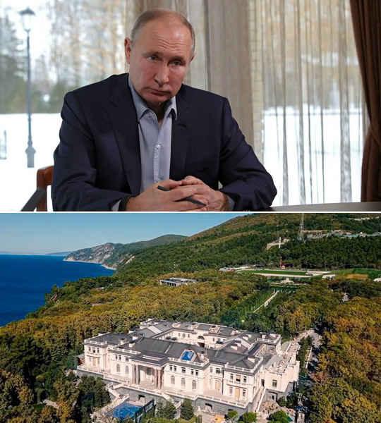 Владимир Путин впервые прокомментировал фильм Алексея Навального, в котором оппозиционер утверждает, что Путину принадлежит огромный дворец под Геленджиком.
