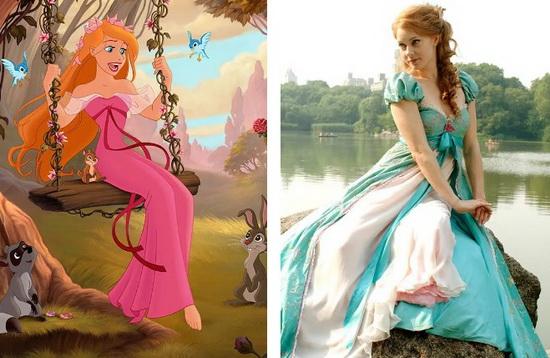 Эми Адамс в образе принцессы Жизель