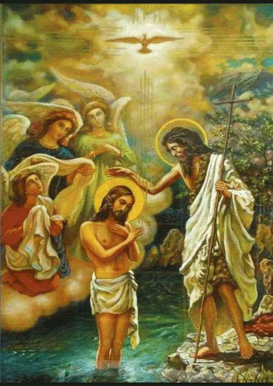 Поздравляю Вас с величайшими православными праздниками — Богоявлением и Крещением Господним!