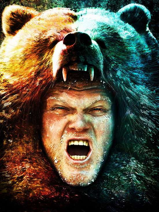 Теория о том, что берсерки носили медвежьи маски, тоже неубедительна