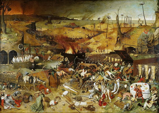 «Триумф смерти», Питер Брейгель — старший / © Wikimedia Commons
