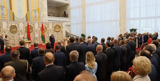 Лукашенко пришлось провести впервые в истории «тайную инаугурацию