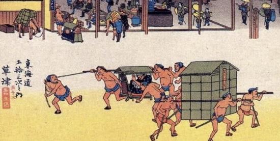 Жители Японии в фундоси. Источник: wikipedia.org