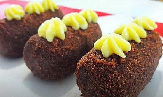 Пирожное «Картошка» из печенья со сгущенкой — классический рецепт