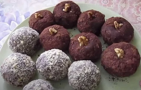 Самый вкусный рецепт пирожное «Картошка» с орехами