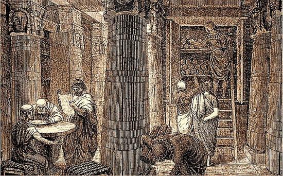 Птолемей даже запретил поставлять в Пергам папирусы.