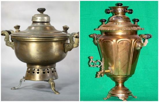Самовар-кухня и самая популярная модель тульского самовара - «Паричко»