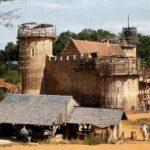 Сколько времени занимало строительство средневекового замка
