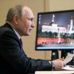 Путин заявил, что 2020 год стал самым тяжелым для экономики со времен Второй мировой войны