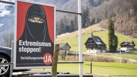 В Конституцию Швейцарии будут внесены поправки, позволяющие ввести запрет на ношение скрывающей лицо одежды