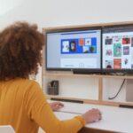 DropTop: письменный стол, который после работы превращается в настенную картину