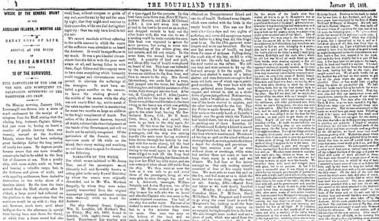 История спасения дала богатый материал как местным газетам, так и изданиям метрополии