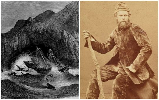 Трехмачтовый парусник, названный в честь героя Гражданской войны в США и будущего американского президента Улисса Гранта, отправлялся 4 мая 1866 года из Мельбурна в Лондон.