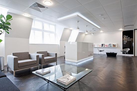 Интерьер офиса LVHM - пространство, стиль, энергосбережение