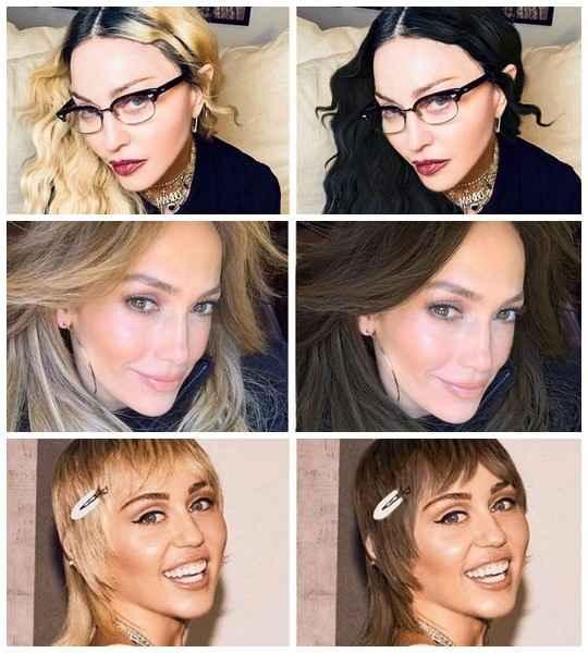Мы привыкли, что Николь Кидман и Памела Андерсон блондинки, в то время как Келли Осборн любит фиолетовые локоны