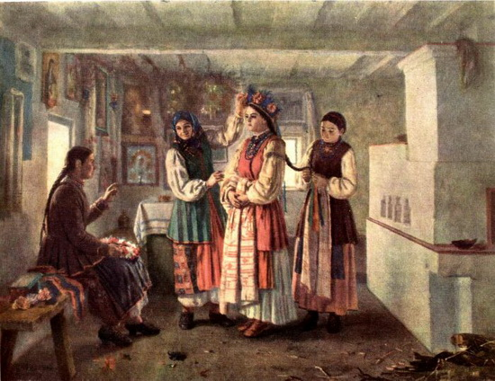 Коса на Руси считалась одним из главных признаков красоты