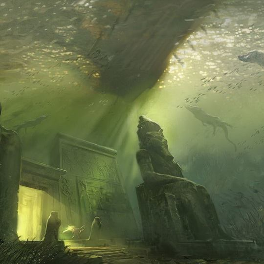 Древний Гераклион был скрыт с поверхности земли землетрясением на несколько тысячелетий.