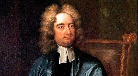 Джонатан Свифт – писатель-сатирик англо-ирландского происхождения