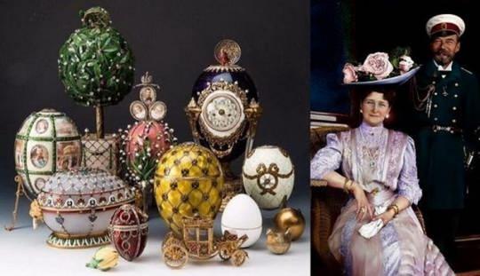 Яйца Фаберже всегда ассоциировались с российской императорской семьей.