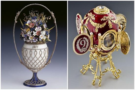 В 1882 году Фаберже участвовал во Всероссийской выставке, а его работы понравились императору Александру III